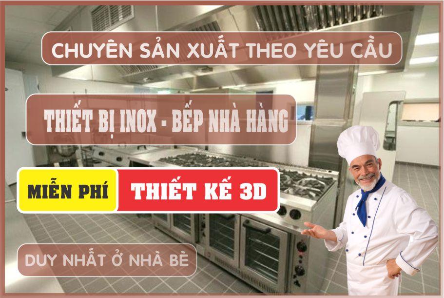 thi cong thiet ke thiet bi bep nha hang - Cung cấp thiết bị nhà hàng tại Tân Bình