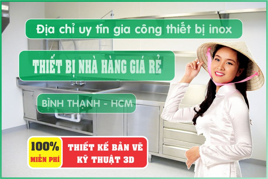 thiet ke nha hang chuyen nghiep 2 - Bán thiết bị bếp nhà hàng giá rẻ tại Hồ Chí Minh