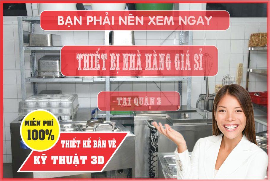 thiet ke nha hang dep - Bán thiết bị bếp nhà hàng giá rẻ tại Hồ Chí Minh