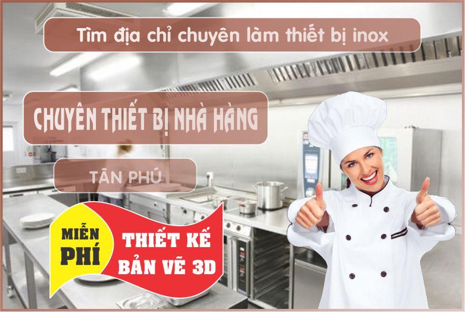 thiet ke nha hang gia re - Bán thiết bị bếp nhà hàng giá rẻ tại Hồ Chí Minh