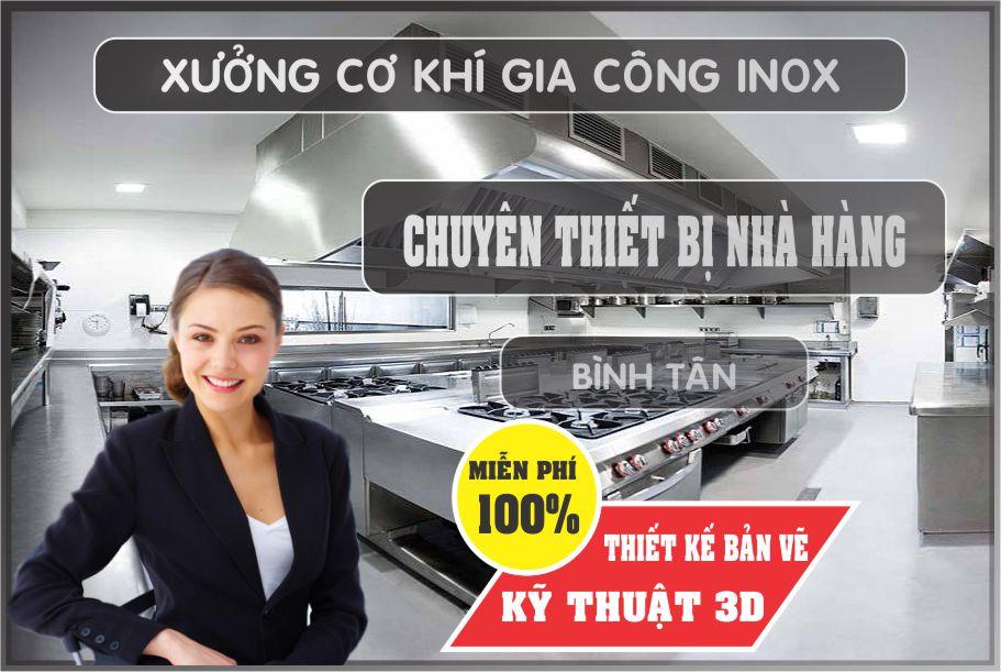 thiet ke nha hang mien phi - Bán thiết bị bếp nhà hàng giá rẻ tại Hồ Chí Minh