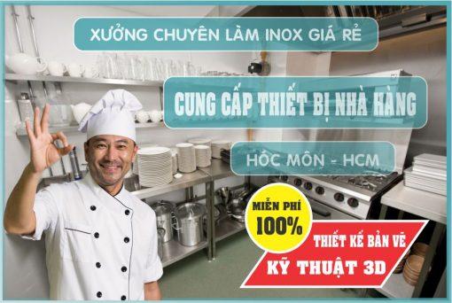 thiet ke nha hang uy tin 1 510x342 - Chuyên cung cấp thiết bị bếp nhà hàng tại Hóc Môn