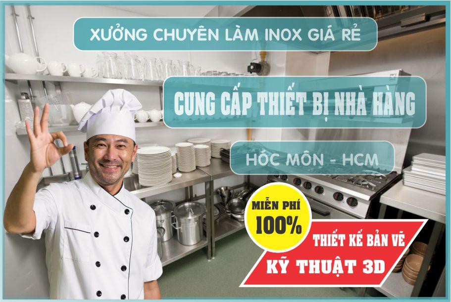 thiet ke nha hang uy tin 1 - Bán thiết bị bếp nhà hàng giá rẻ tại Hồ Chí Minh