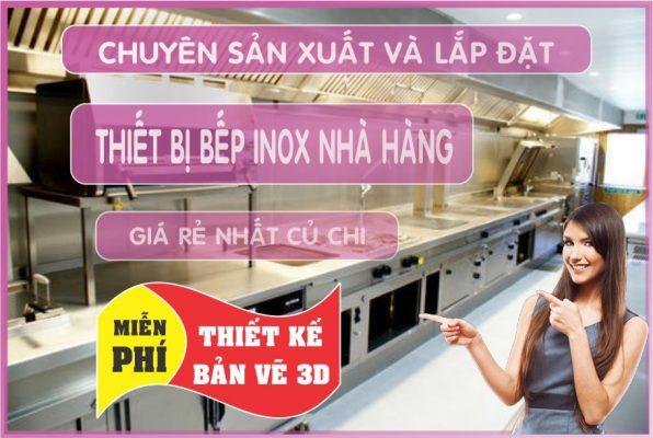 chuyen thiet ke nha hang 596x400 - Cung cấp thiết bị nhà hàng, gia công inox tại Củ Chi