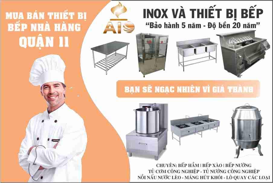 san xuat thiet bi inox bep nha hang - Chuyên gia công inox - thiết kế nhà hàng quận11