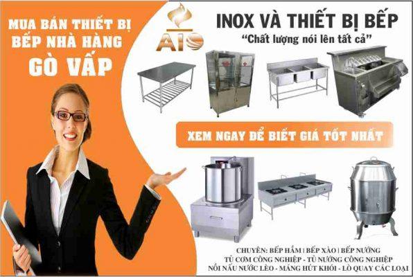 xuong gia cong thiet bi inox bep nha hang 596x400 - Địa chỉ chuyên kinh doanh thiết bị nhà hàng - bếp nhà hàng tại Gò Vấp