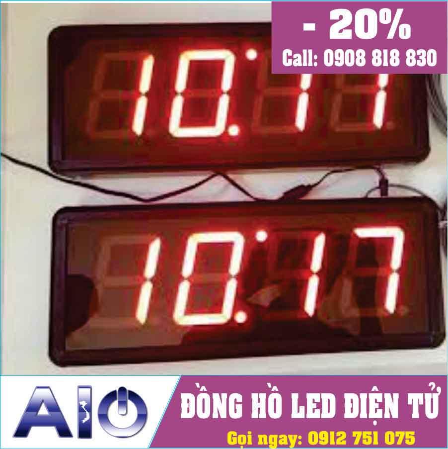 san xuat dong ho led treo tuong - Đồng hồ led điện tử treo tường