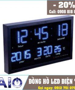 thiet ke dong ho led treo tuong 247x296 - Đồng hồ led điện tử treo tường