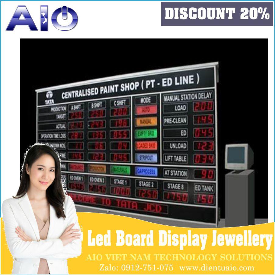 Gold Rate Led Display Board - Bảng hiển thị giá vàng led