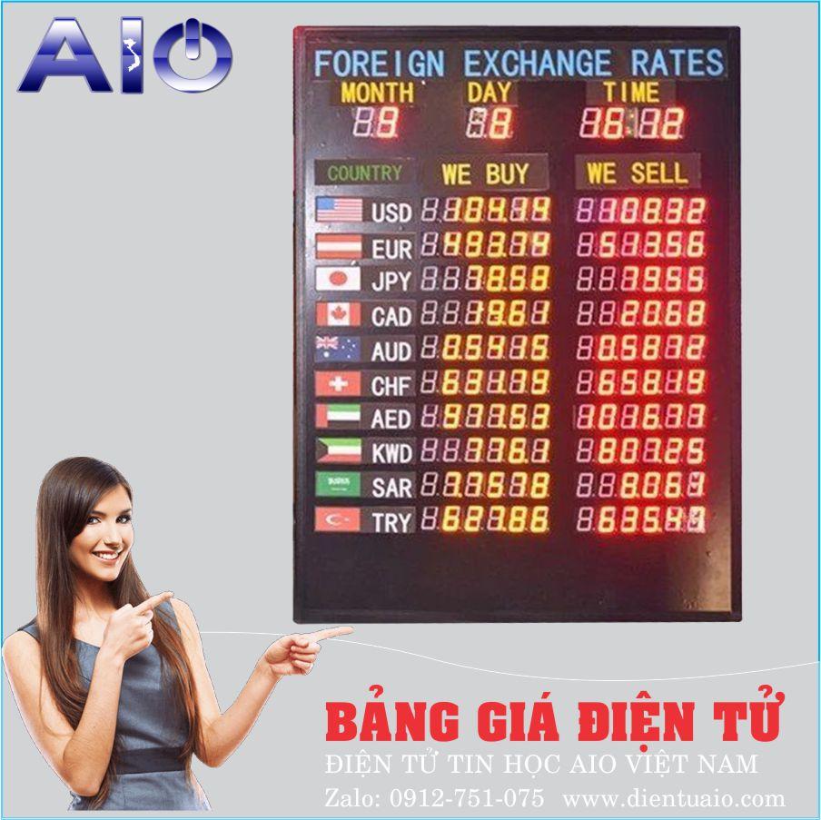 bang gia ngoai te - Bảng giá điện tử