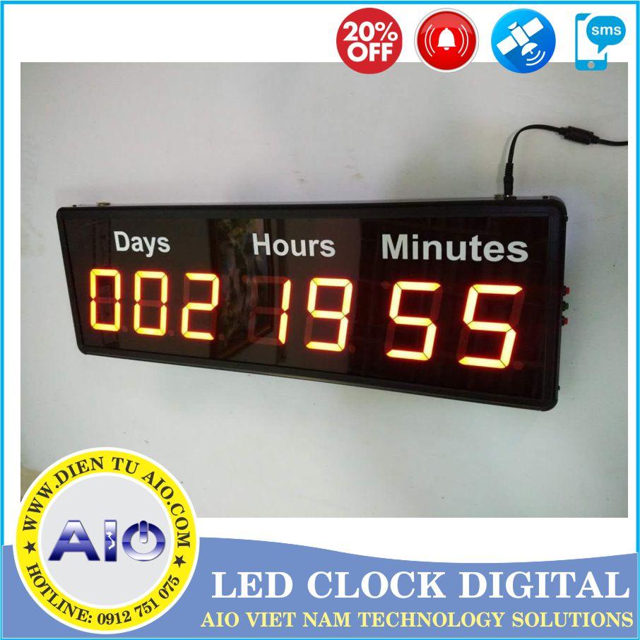 dong ho dien tu led nha xuong - Đồng hồ led điện tử dùng trong nhà xưởng