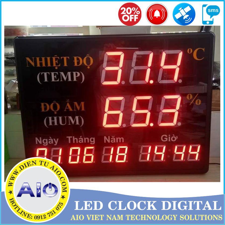 dong ho led lich van nien 1 - Đồng hồ led điện tử dùng trong nhà xưởng
