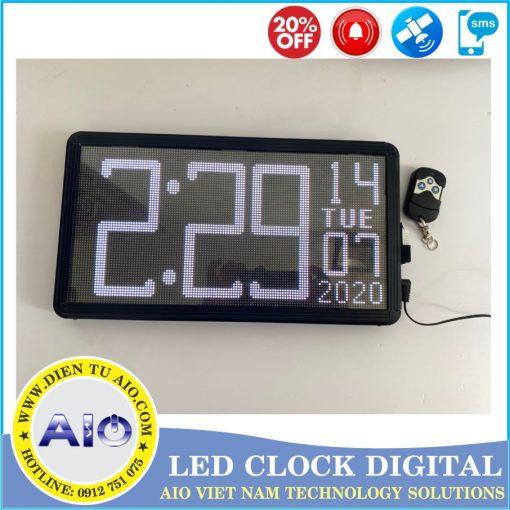 dong ho led van phong 1 510x510 - Đồng hồ led điện tử dùng trong văn phòng