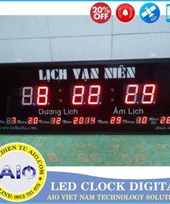 dong ho lich van nien 247x296 - Đồng hồ led điện tử dùng trong văn phòng