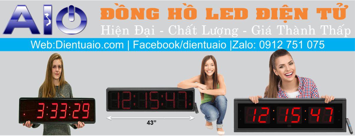 lap rap dong ho led 1 - Đồng hồ led điện tử dùng trong nhà xưởng