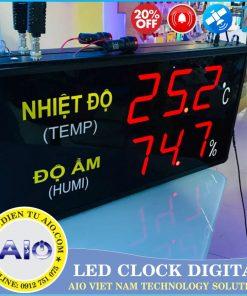 man hinh led hien thi nhiet do do am 247x296 - Đồng Hồ Led Điều Khiển Nhiệt Độ Nhà Máy