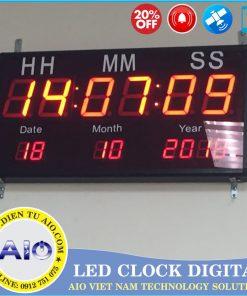 thiet ke dong ho led 2 247x296 - Đồng hồ led điện tử để bàn